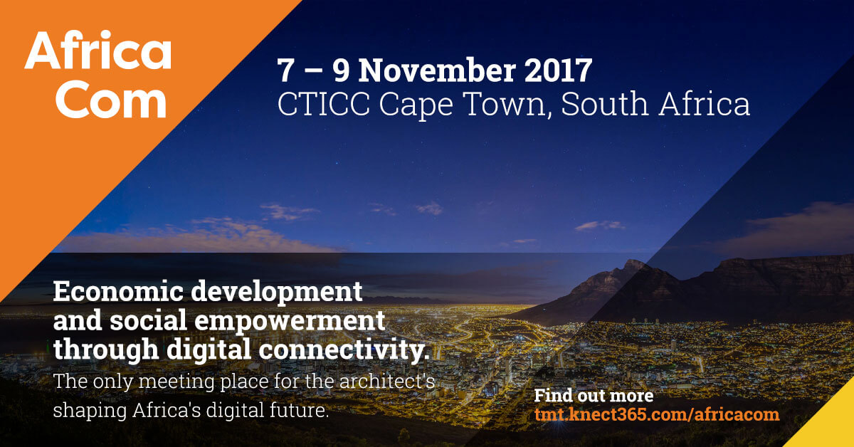 AfricaCom 2017 in Cape Town